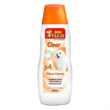 SHAMPOO DOG CLEAN PELOS CLAROS 500ML - Pet Bontrato
